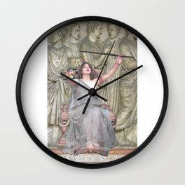 Selfie Stick Wall Clock