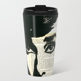 Audey Hepburn portrait Travel Mug