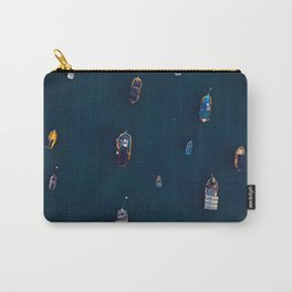 Harbour Life | Aerial Fine Art Photography  Carry-All Pouch