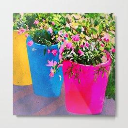 Bright planters Metal Print