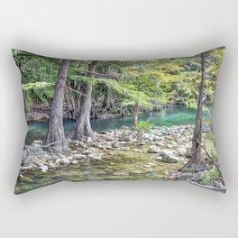 Cypress Trees Rectangular Pillow