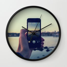 iPhoneogrpahy Wall Clock