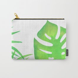 Monstera in Minimalist Paradise Carry-All Pouch
