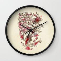 Egon Bondy's Happy Hearts Club Banned Wall Clock