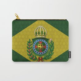 Dom Pedro II Coat of Arms Carry-All Pouch