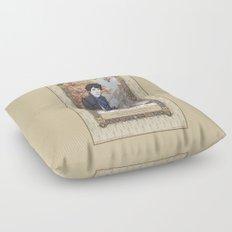 Sherlock Victorian Language of Flowers - Autumn Floor Pillow