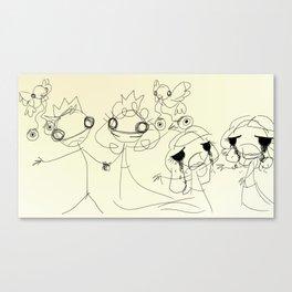 DRUNK STORYTIME: Cinderella Canvas Print