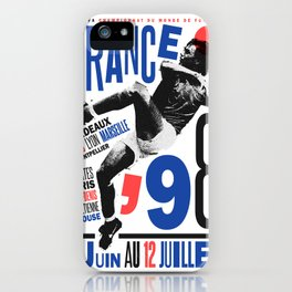 World Cup: France 1998 iPhone Case