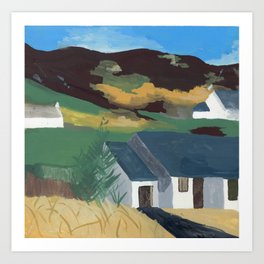 Country Houses Art Print