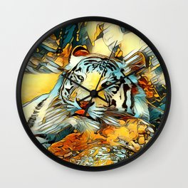 AnimalArt_Tiger_20170603_by_JAMColorsSpecial Wall Clock