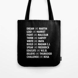 Panthers Lives Matter Tote Bag