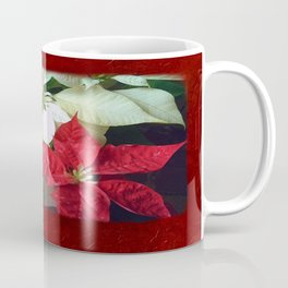 Mixed Color Poinsettias 2 Blank P5F0 Coffee Mug