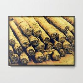 Cigars Metal Print