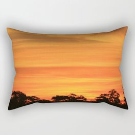 Okavango Sunset Rectangular Pillow