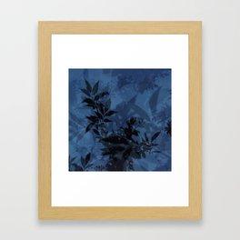 Dusky Blues Framed Art Print