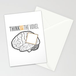 Think Outside the Voxel Stationery Cards