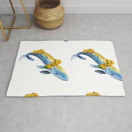 Seamless Pattern With Sea Inhabitants Rug