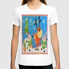 Elves and Reindeer T-shirt