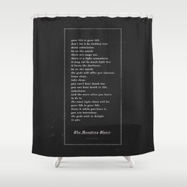 The Laughing Heart II Shower Curtain
