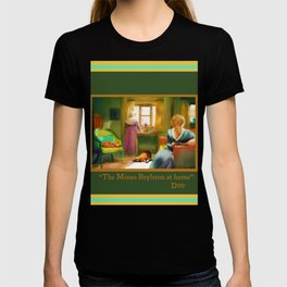 Victorian Day with Cat and Dog (The Misses Boylston) T-shirt