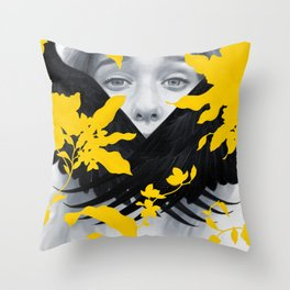 Silenced II Throw Pillow