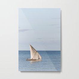 African Sails Metal Print
