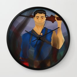 The Man That Can Do Anything Wall Clock