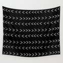mudcloth 14 minimal textured black and white pattern home decor minimalist beach by monoo