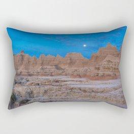Dawn at the Badlands Rectangular Pillow