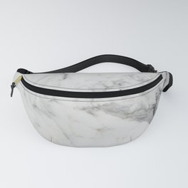 White Marble Fanny Pack