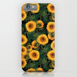 Helianthus Annuus II iPhone Case