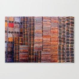 Pallets  Canvas Print