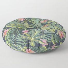Palm Leaves Pattern 13 Floor Pillow