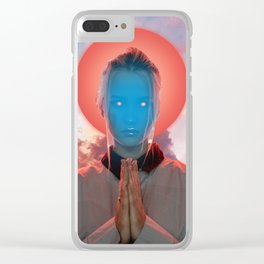Rise Above Clear iPhone Case