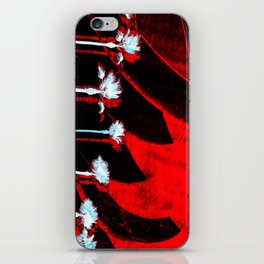 Surf in the City - Black + Red iPhone Skin