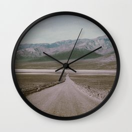 ON THE ROAD XIII Wall Clock