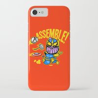 thanos iPhone & iPod Cases featuring Assemble! by Demonigote