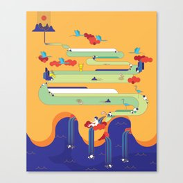 Big Nature Canvas Print