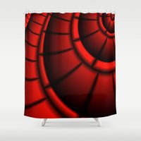 joy division Shower Curtains featuring division by Christy Leigh