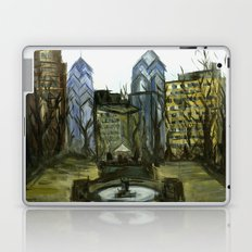 Rittenhouse Square in the Winter Laptop & iPad Skin