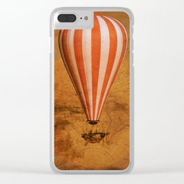 Bygone era Clear iPhone Case
