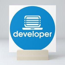 Developer Mini Art Print