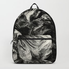 Sequoia Abstract, No. 1 bw Backpack