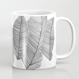 drawn feathers Coffee Mug