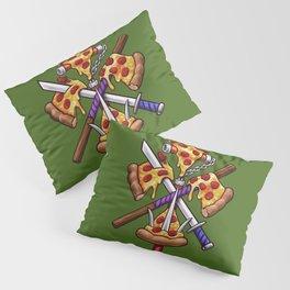Ninja Pizza Pillow Sham