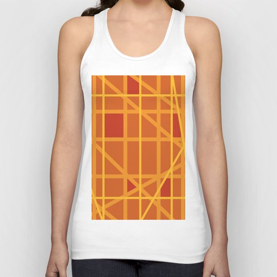 Abstract DW Unisex Tank Top