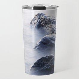 Lake Superior Boulders Travel Mug