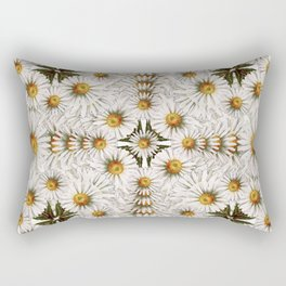 Daisy Chain Pattern Rectangular Pillow