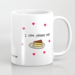 Spoonge Cake  Coffee Mug