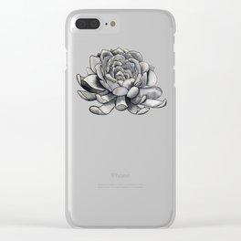 Sumptuous Succulent Clear iPhone Case